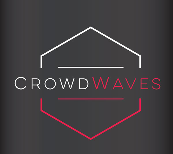 Crows Waves Jersey Shore Logo Design