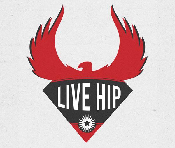 Live hip Jersey Shore Logo Design